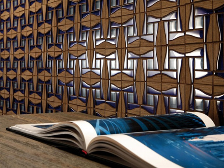 Do It Yourself Home Design: Exclusive Decorative Wall Tiles In Solid Wood