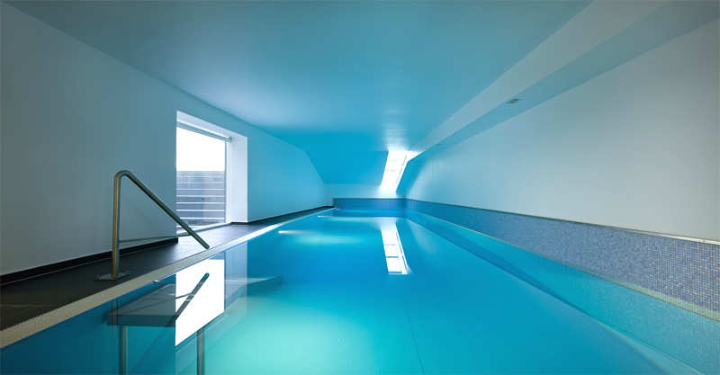 Indoor Swimming Pool Design Likewise Houses With Indoor Swimming Pool