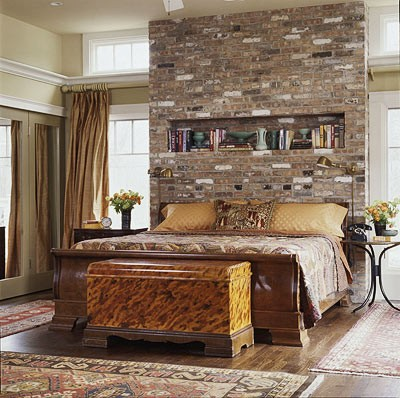 Exposed Brick Wall Ideas  Faux rugged brick panels are quite popular  nowadays and usually they are quite easy to install
