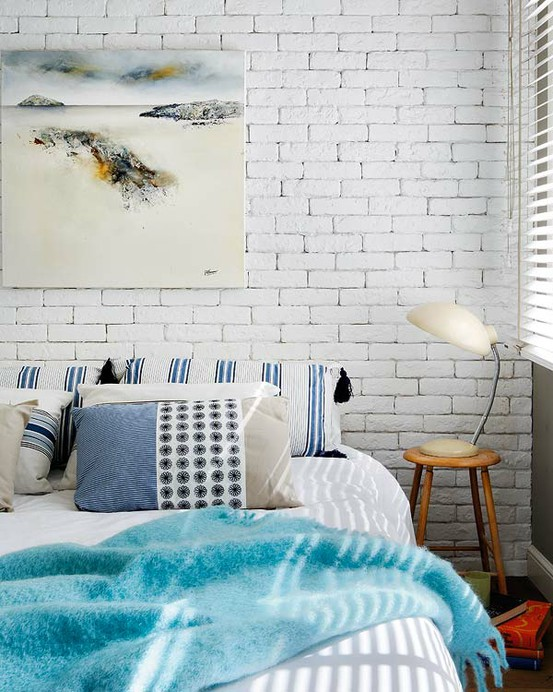 Cool Interiors With Exposed Brick Walls DigsDigs - Bedrooms brick walls