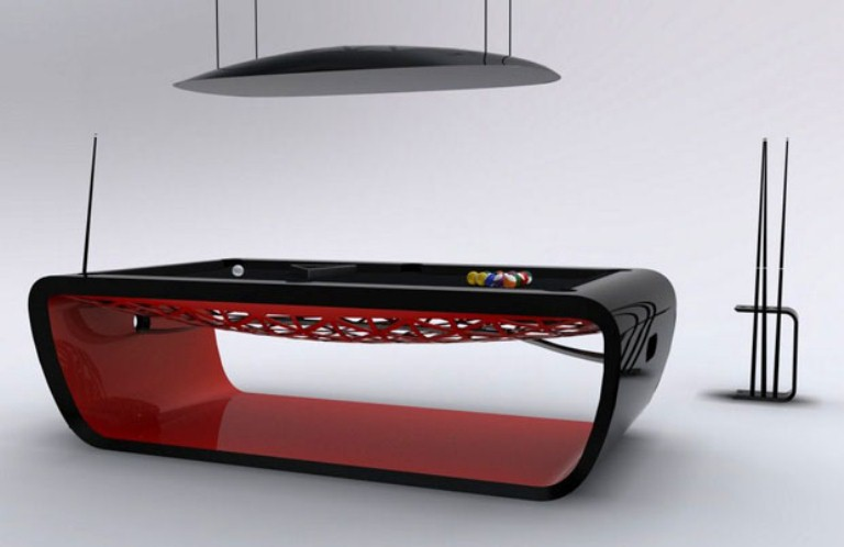 Exquisite and ultra modern billard table digsdigs - Billard table moderne ...