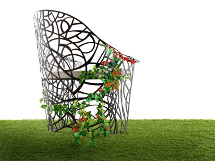 Exquisite Garden Furniture To Be Overrun By Plants