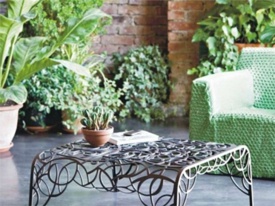 Exquisite Garden Furniture To Be Overrun