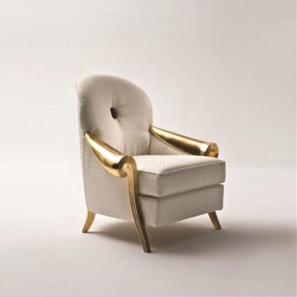 exquisite gold and white furniture collection by rozzoni