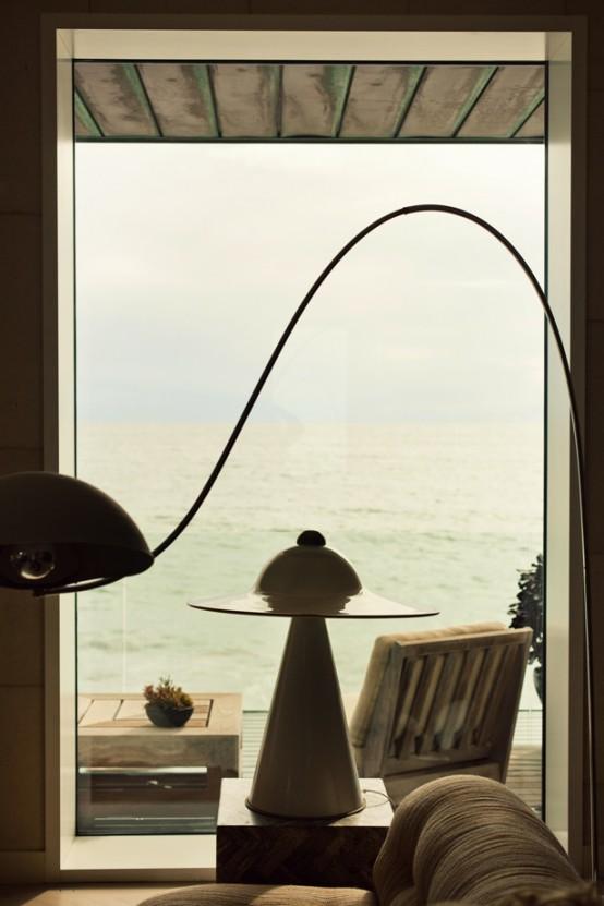 Exquisite Malibu House Full Of Art