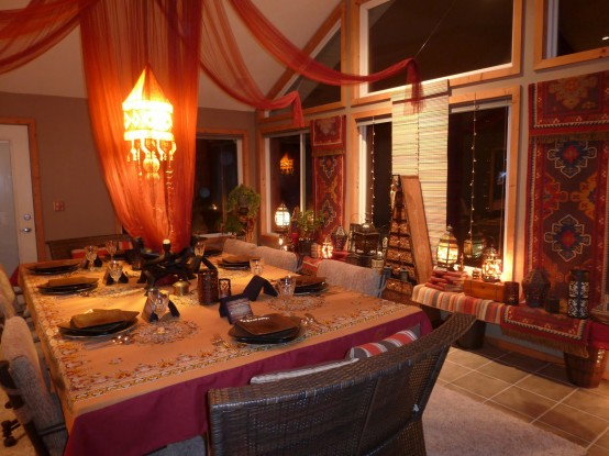 Exquisite Moroccan Dining Room Designs