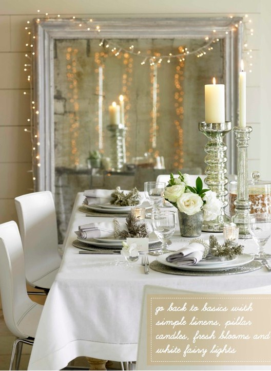 51 Exquisite Totally White Vintage Christmas Ideas - DigsDigs