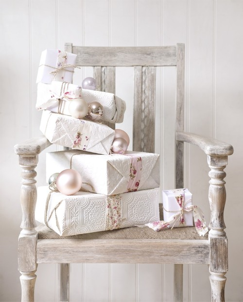 51 Exquisite Totally White Vintage Christmas Ideas