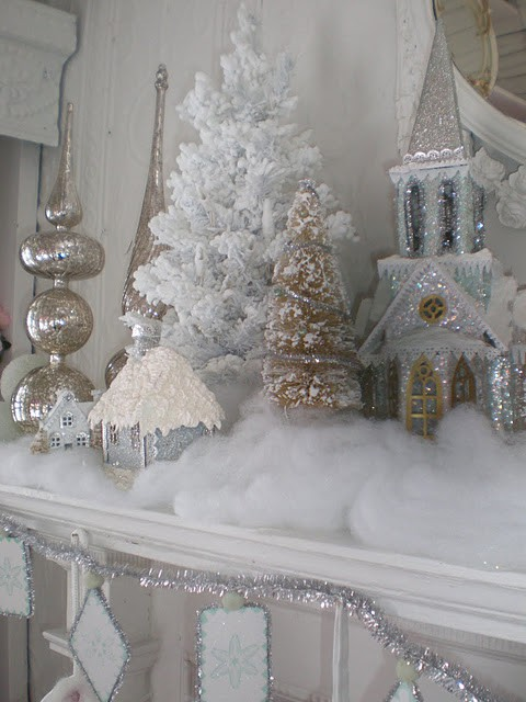 Amazing Exquisite Totally White Vintage Christmas Ideas