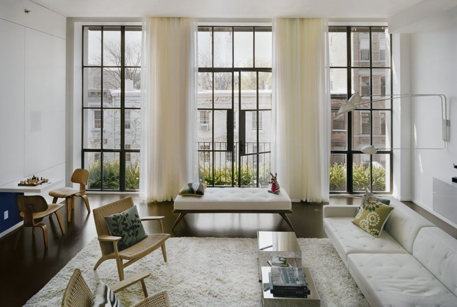 Exquisite East Village House With An Indoor Home Garden