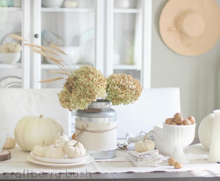 Exquisite White Fall Decor Ideas