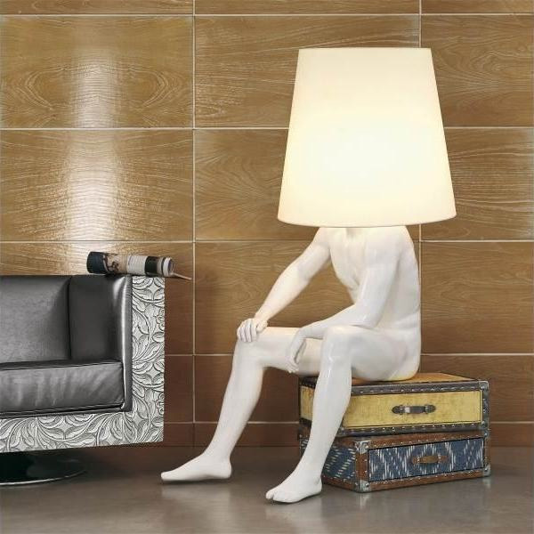 5 cool furniture objects inspired by human parts digsdigs for Ideas for making lamps
