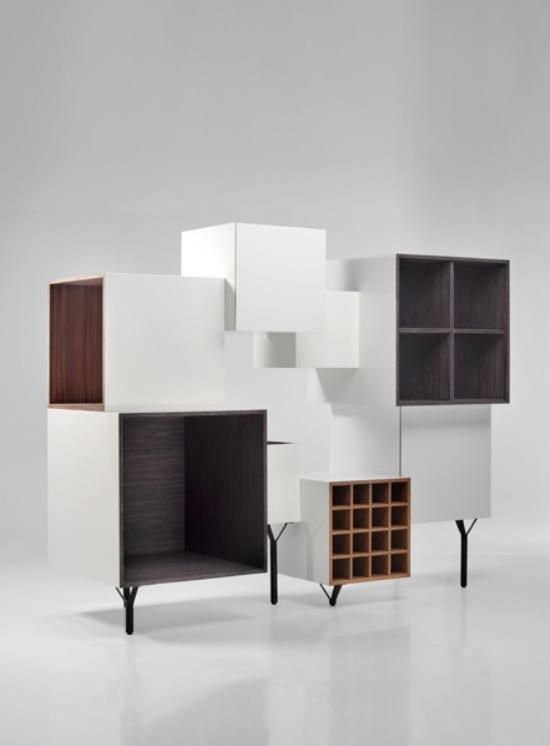 Extravagant Minimalist Wall System