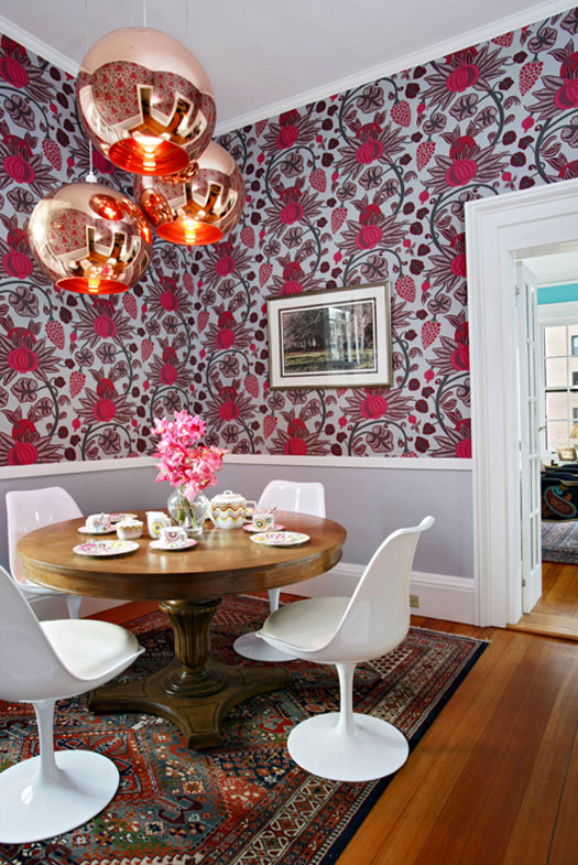 Eye Catchin Colroful Townhouse With Lots Of Patterns In Design