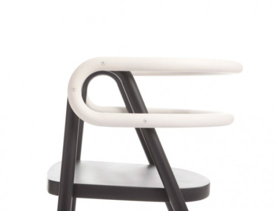 Eye Catching Black And White Chair Composition