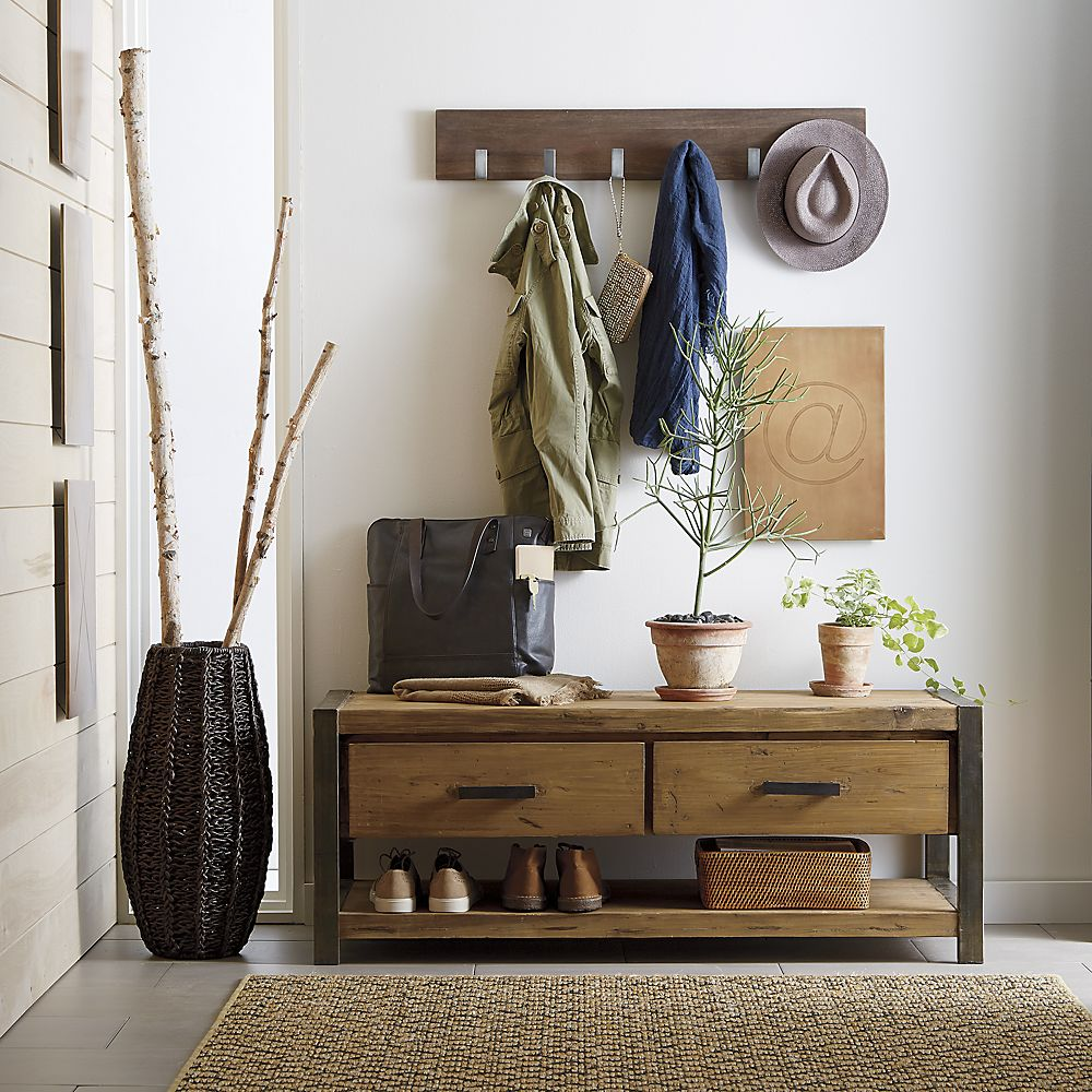 30 Eye-Catching Entryway Benches For Your Home