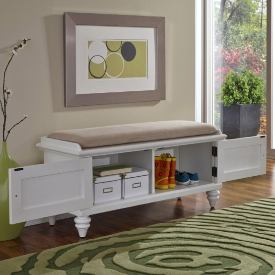 Eye Catching Entryway Benches For Your Home