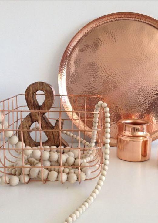 decorar en cobre
