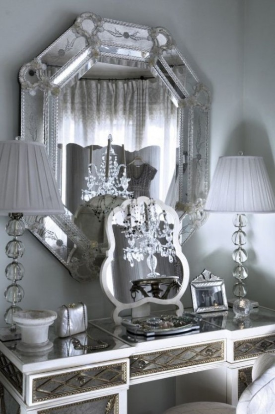 35 Eye Catching Metallic Accents For Your Home D Cor Digsdigs: metallic home decor pinterest