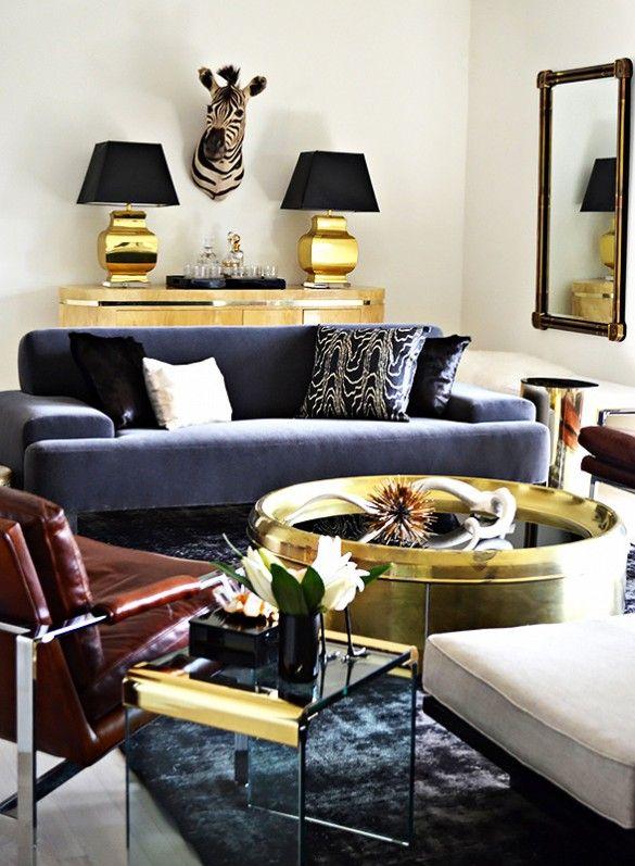 Eye Catching Metallic Home Decor Ideas