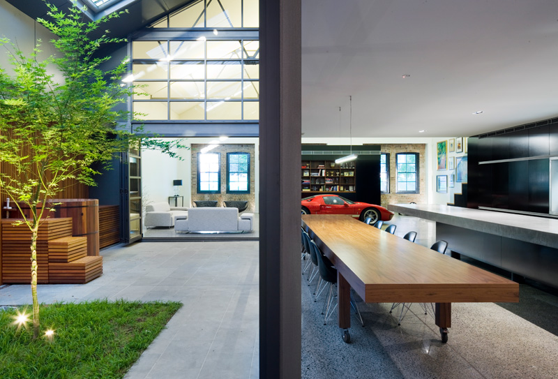 Eye Catching Modern Home From An Old Warehouse