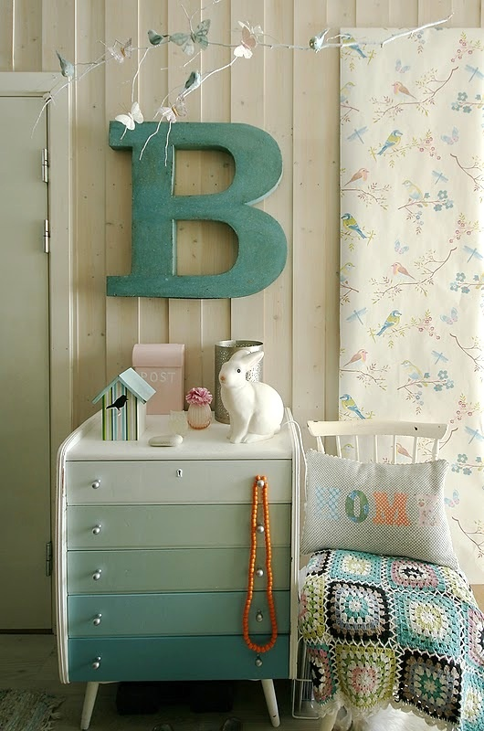 Eye Catching Ombre Furniture Pieces