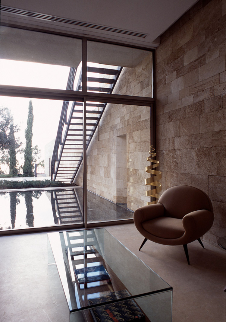 Modern mediterranean house f house by nabil gholam - Lloyds architecture planning interiors ...