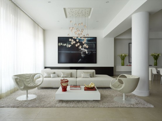 Fabulous and Modern Flat Interior Design