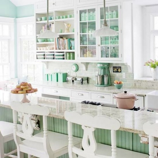 32 Fabulous Vintage Kitchen Designs To Die For