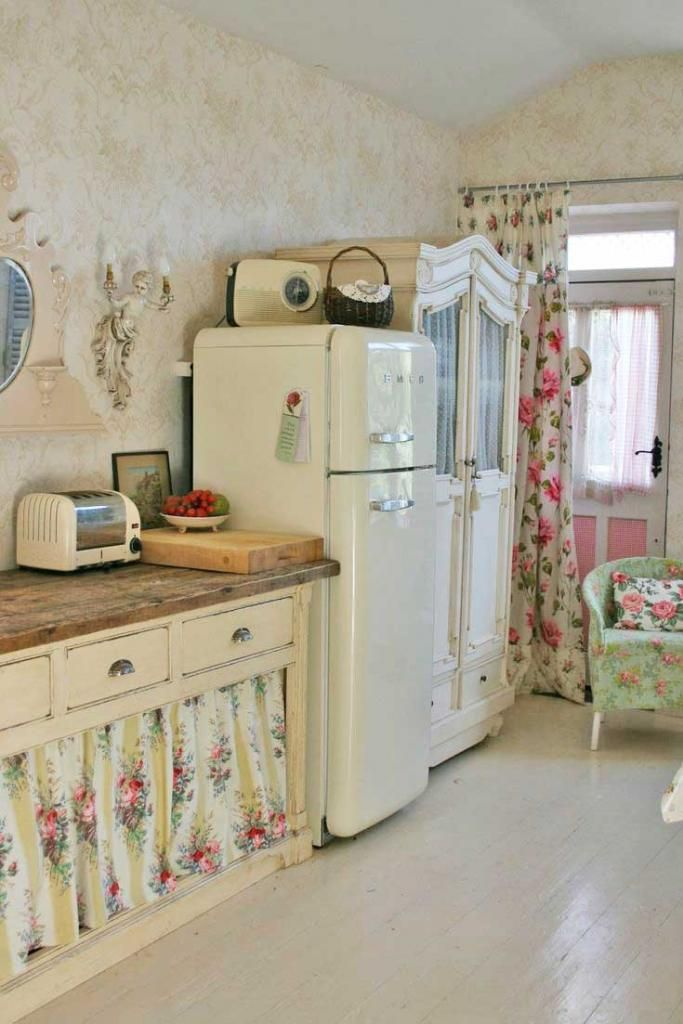 32 fabulous vintage kitchen designs to die for digsdigs On kitchen designs vintage