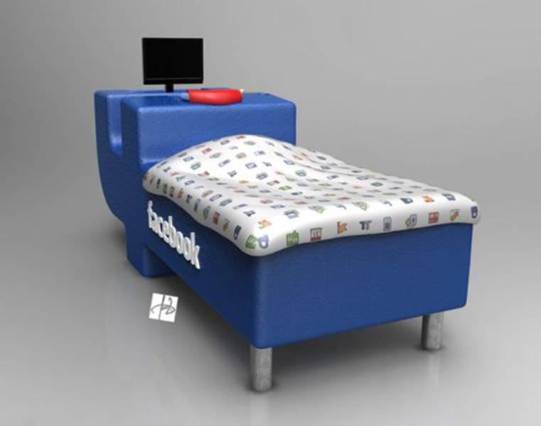 Facebook Bed  By DevianTom Front Pictures