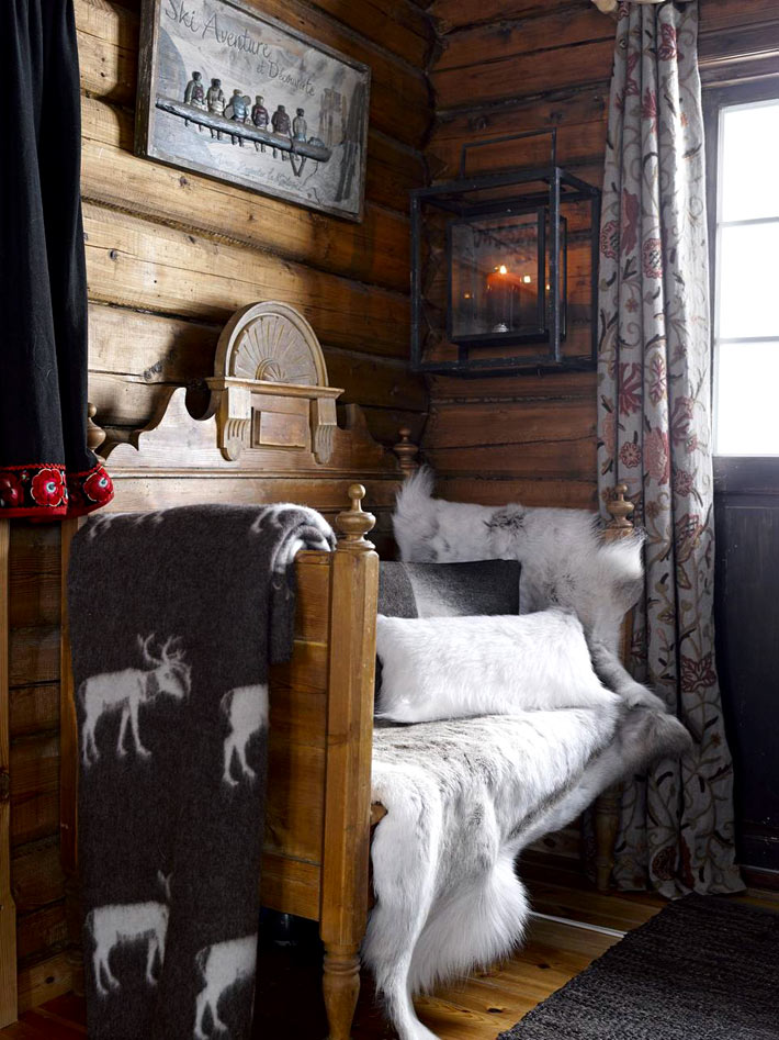 Picture Of fairy tale like and cozy wooden norwegian house  8