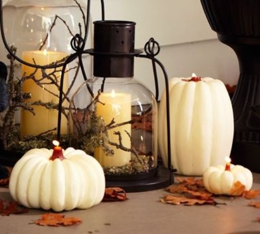59 Fall Lanterns For Outdoor And Indoor Dcor  DigsDigs - Indoor Pumpkin Decorations