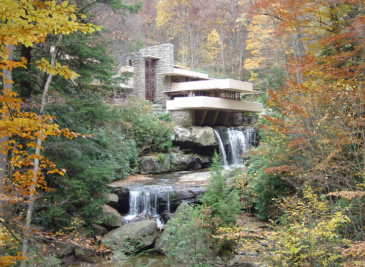 Falling Waters Frank Lloyd Wright House