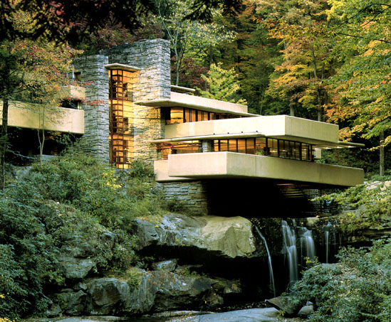 Famous Architecture Houses fallingwater - one of the most famous houses in the world built