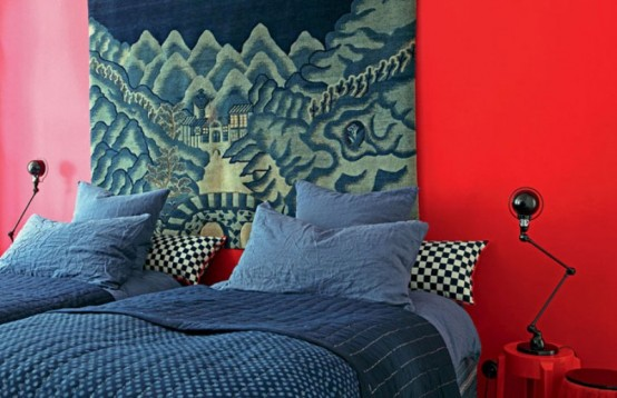 Famous Designer's Parisian Apartment In Eclectic Style