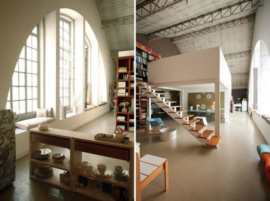 Living And Working Interior That Blends Fantasy With