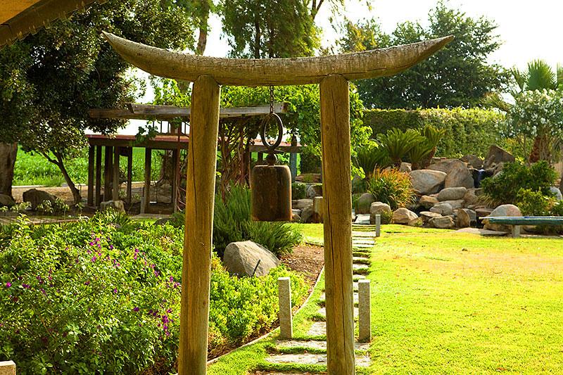 Farm House With Japanese Garden