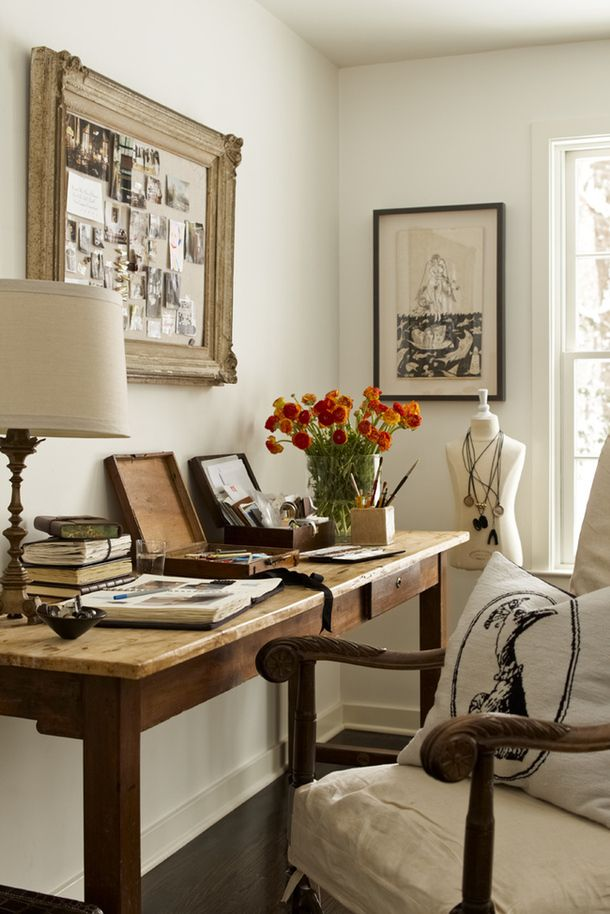 Creative 15 NatureInspired Home Office Ideas For A StressFree Work Space