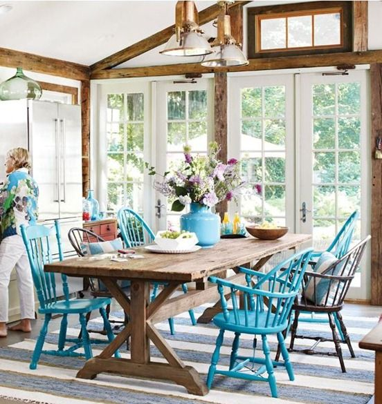 Sunroom Dining Room: 25 Farmhouse Sunrooms You Will Never Want To Leave