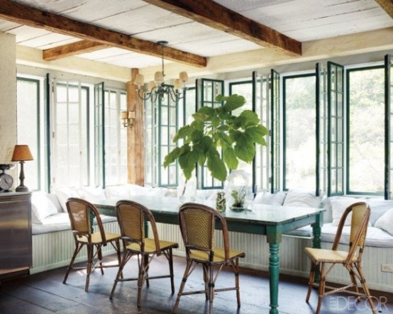 Farmhouse Sunrooms You Will Never Want To Leave