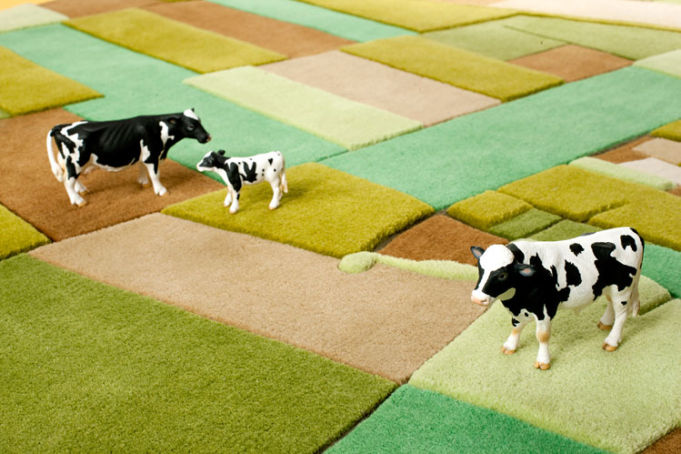 Farmville Inspired Carpet by Florian Pucher