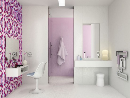 Fascinating Bright Ceramic Tiles R+evolution By Karim Rashid