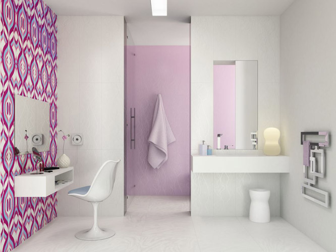 Bathroom Design, Outstanding Bathroom Design Design Of Scandinavian  Ideas For Bathroom Tile Design  On Fascinating Bright Ceramic Tiles – R Evolution By Karim Rashid  : Scandinavian  Ideas For Bathroom Tile Design  Of Fascinating Bright Ceramic Tiles – R+Evolution By Karim Rashid   With Excellent Bathroom Design Digital Imagery