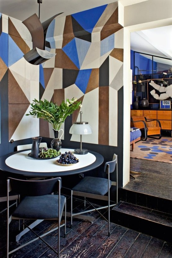 Fashionable Geometric Decor Ideas For You Dining Space