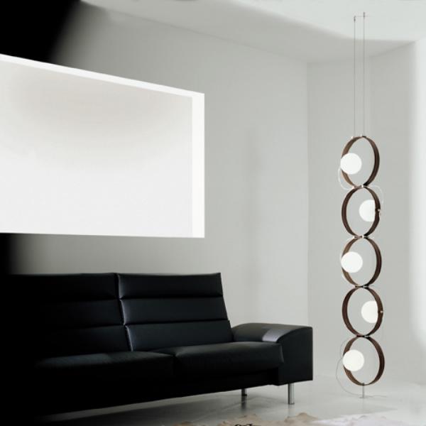 Fashionable Minimalist Lamp Reminding Of A Caterpillar