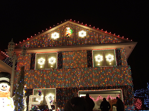 Outdoor Christmas Lights House