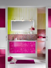 Femenine Glamour Bathroom Furniture