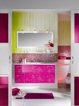 Luxury classic bathroom furniture from lineatre white bathroom