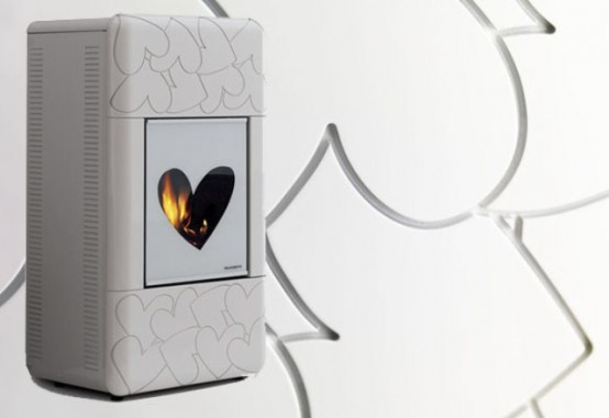 Feminine Hearth To Bring A Romantic Touch To Your Space